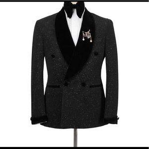 Men's Black Tuxedo + Pants